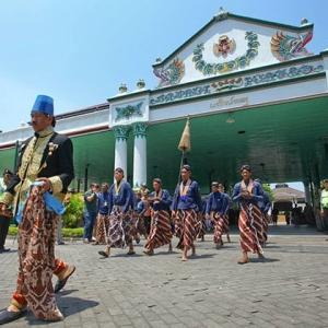 Keraton Ancient Sultan Palace Yogyakarta